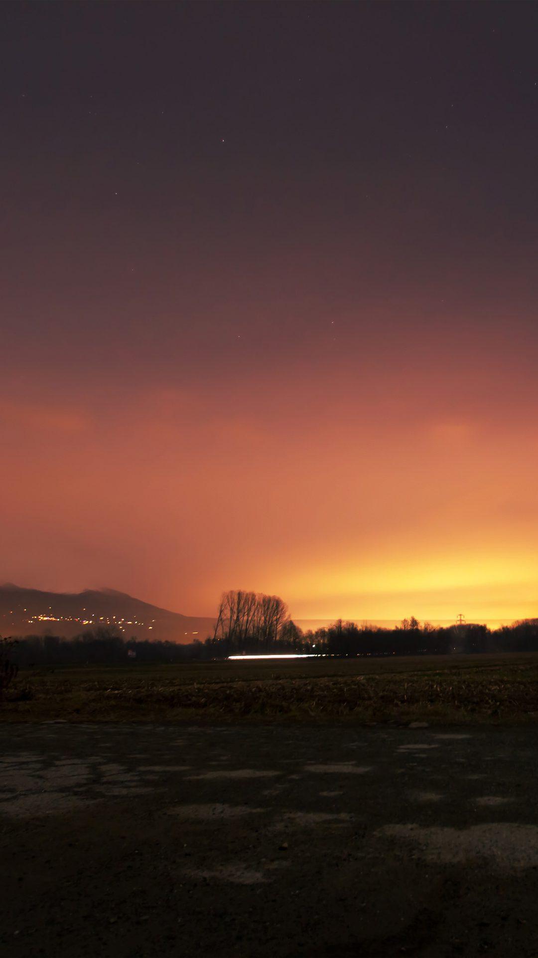 Dawn Nature Sky Sunset Mountain Red Dark