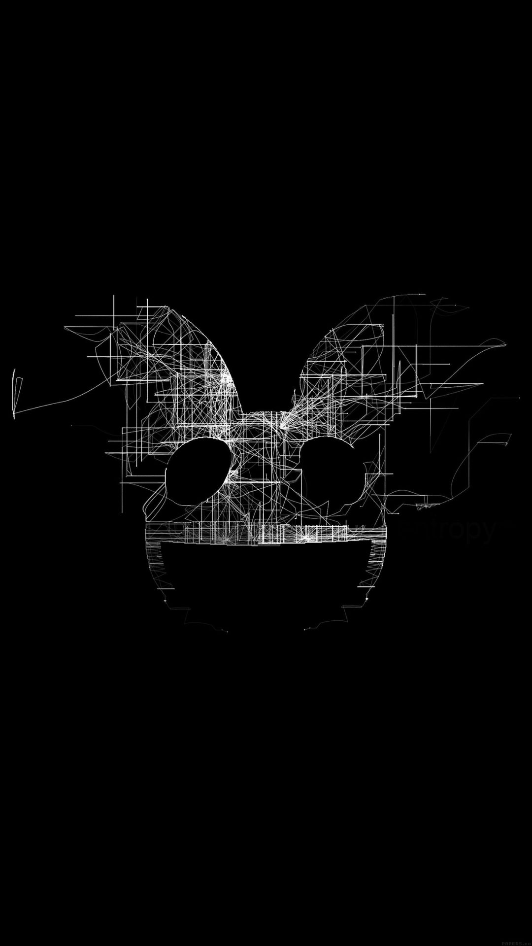 Deadmau5 Black Logo Art Music
