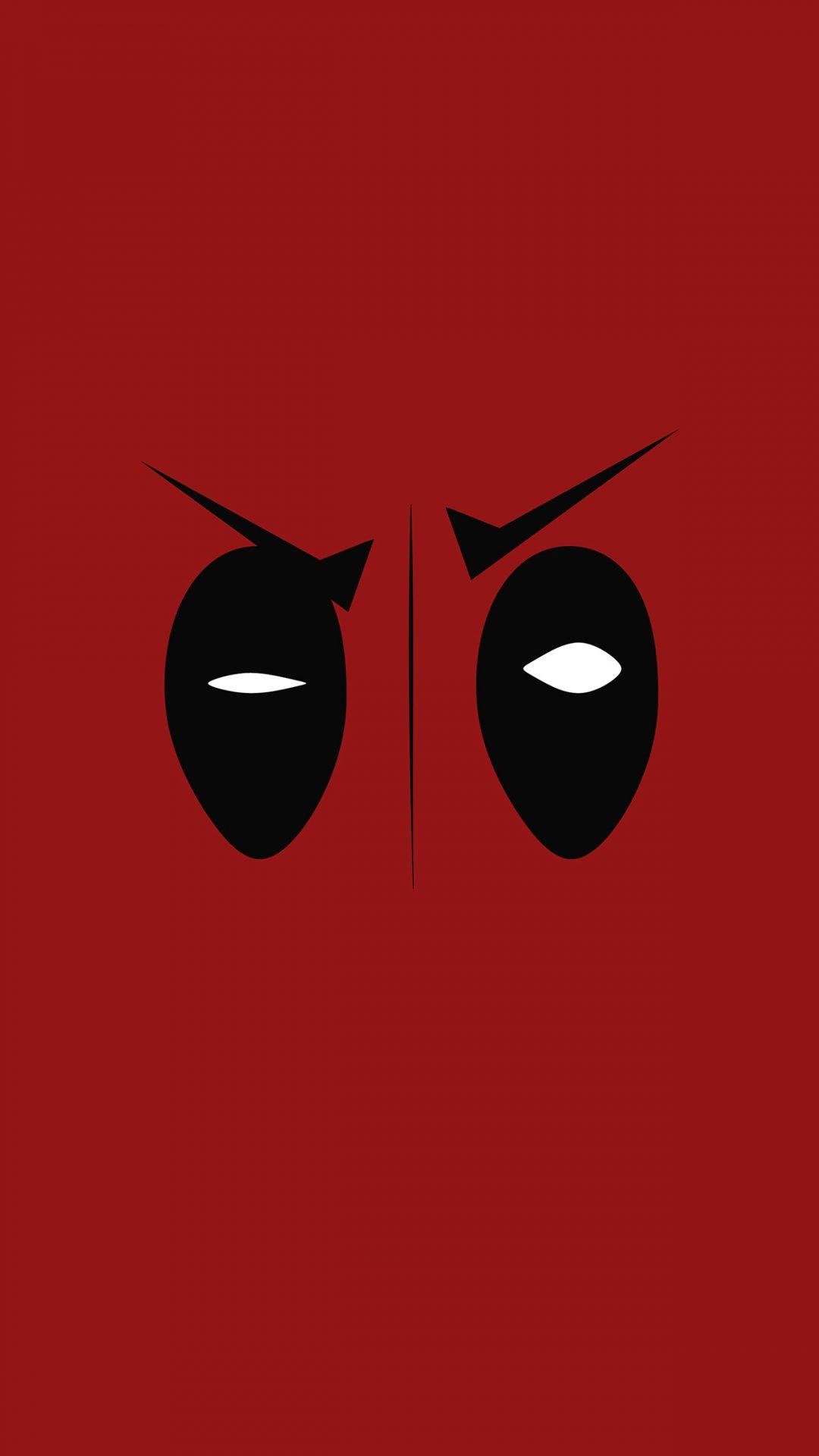 Deadpool Hero Eye Logo Art Film