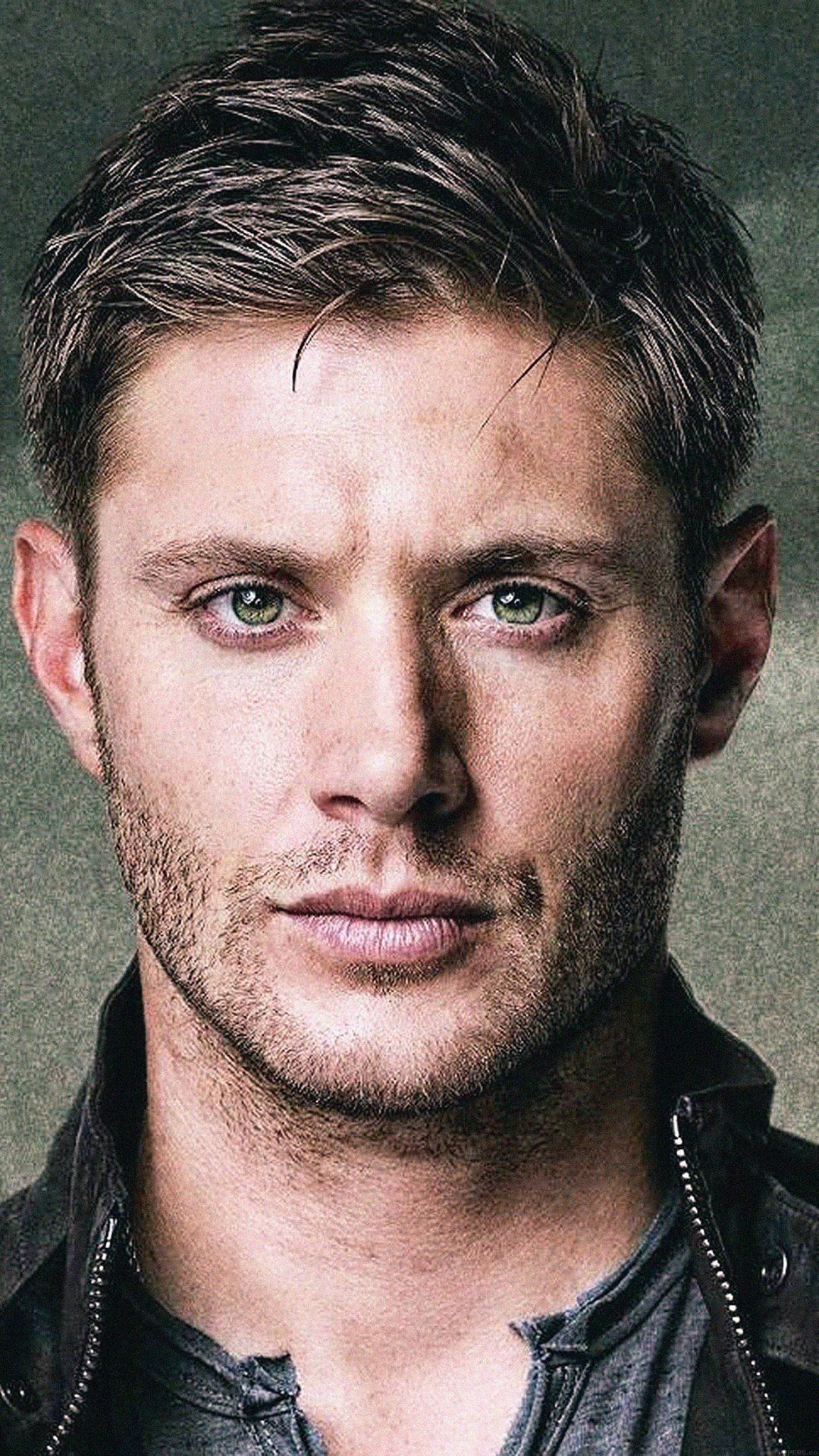 Dean Winchester Paint Film Face