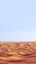 Desert Minimal Blue Nature Sky Earth