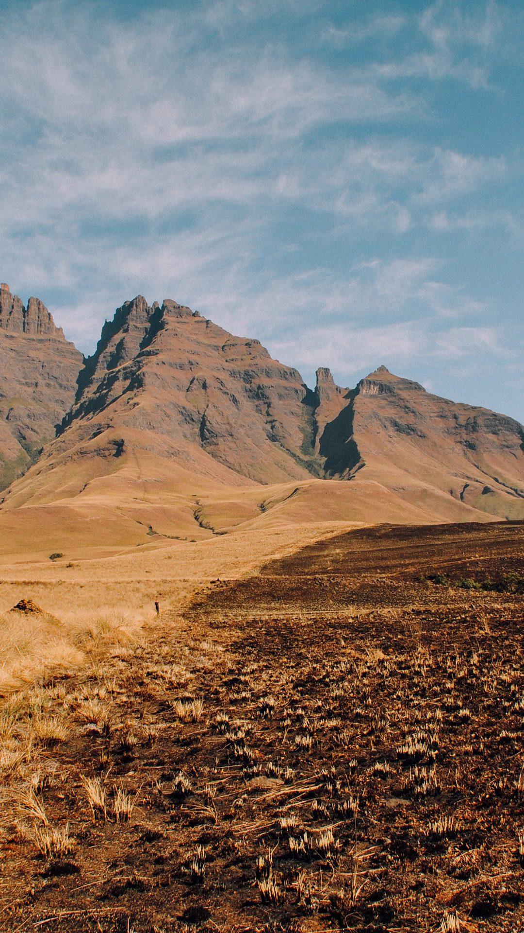Dirt Mountain Soil Nature Sky