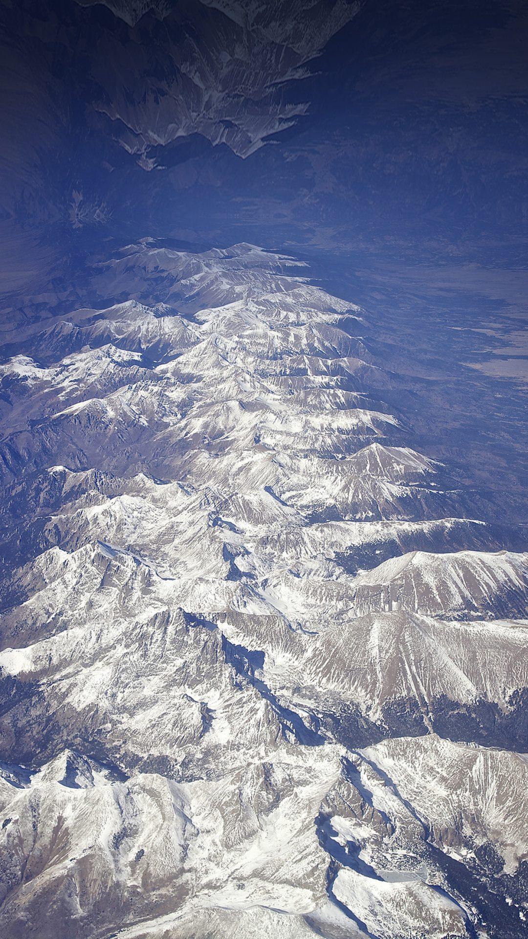 Earth Reversed Stellar Nature Snow Winter