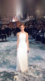 "LONDON, ENGLAND - MARCH 31:  Actress Emma Watson attends the UK Premiere of ""Noah"" at the Odeon Leicester Square on March 31, 2014 in London, England.  (Photo by Dave J Hogan/Getty Images for Paramount Pictures International) *** Local Caption *** Emma Watson"