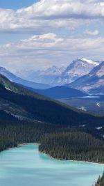 Fantastic Nature Mountain Lake Canada Blue
