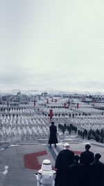 Force Awakens Starwars First Order Art Film