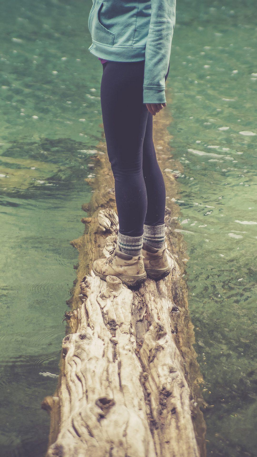 Girlfriend Lake Green Nature Water Cold