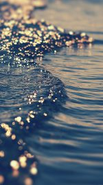 Gold Sea Wave Water Sunset Ocean Nature