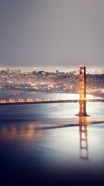 Golden Gate Bridge River Nature