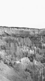 Grand Canyon Creek Nature Desert Scene Bw