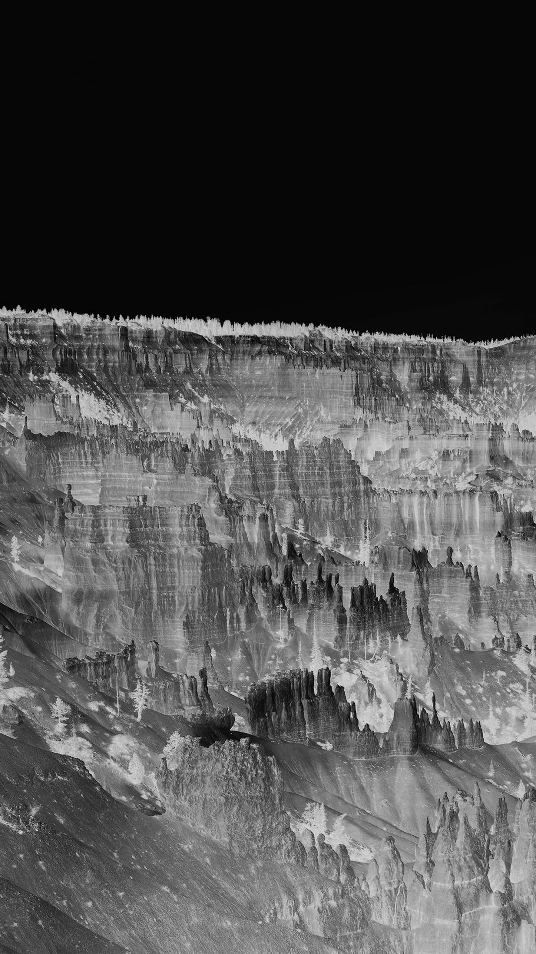 Grand Canyon Creek Nature Desert Scene Dark