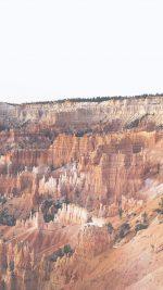 Grand Canyon Creek Nature Desert Scene White