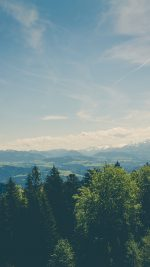 Green Land Sky Blue Summer Nature