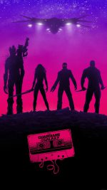 Guardians Of The Galaxy Poster Film Art Illust