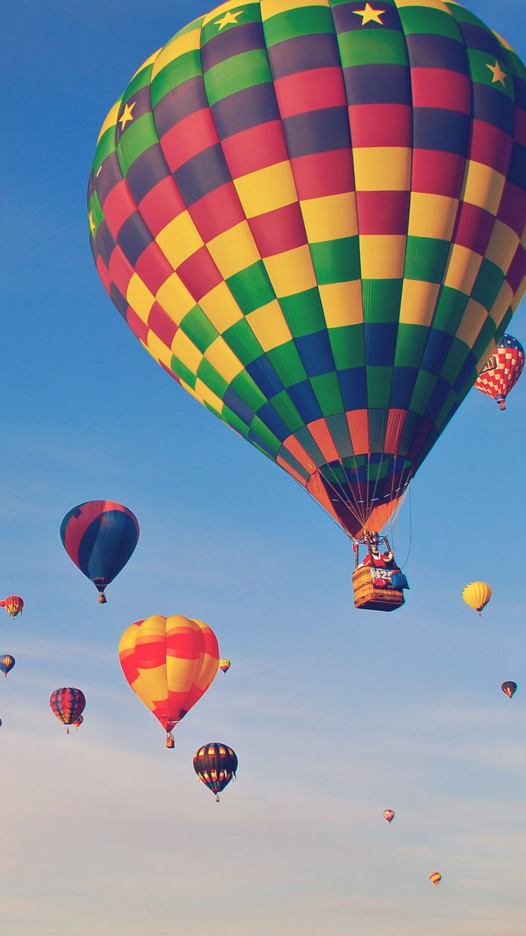 Hot Air Balloon Party Nature Sky