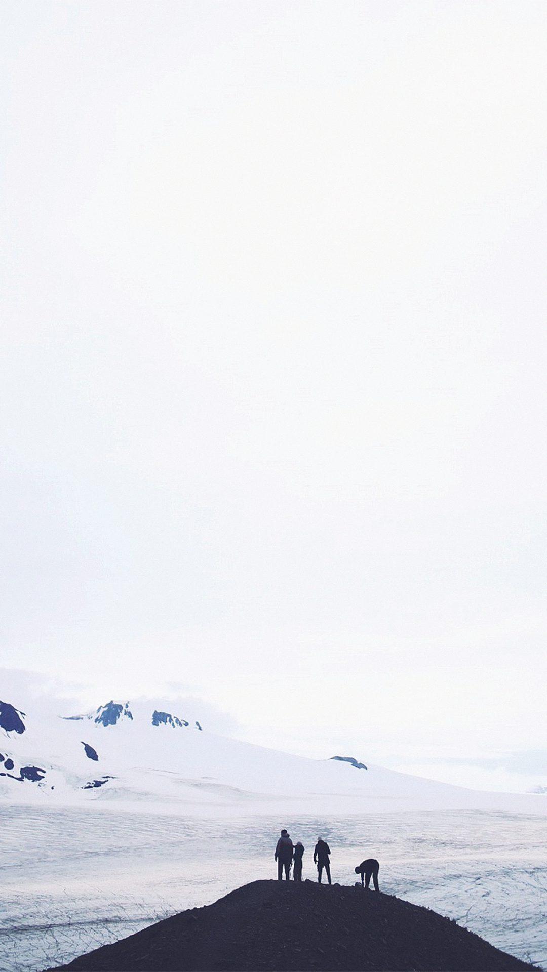 Iceland White Nature Snow Winter Mountain