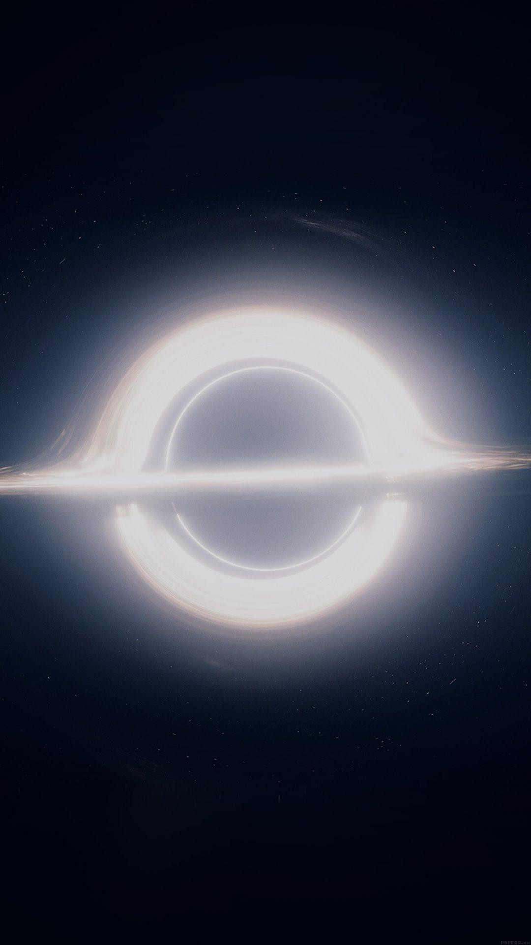 Insterstellar Space Art Blackhole Dark
