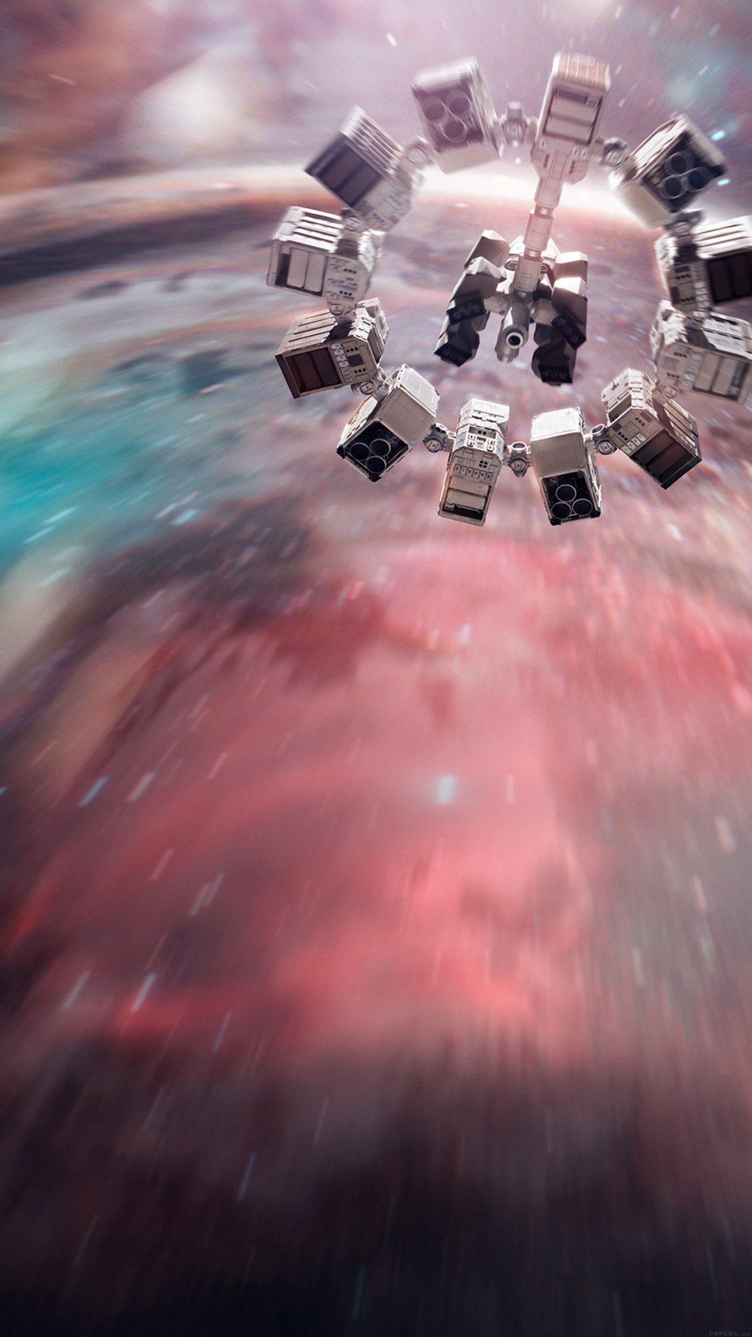 Interstellar Film Space Art Illust