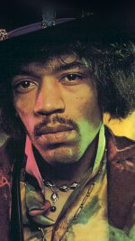 Jimi Hendrix Face Music Regae Artist