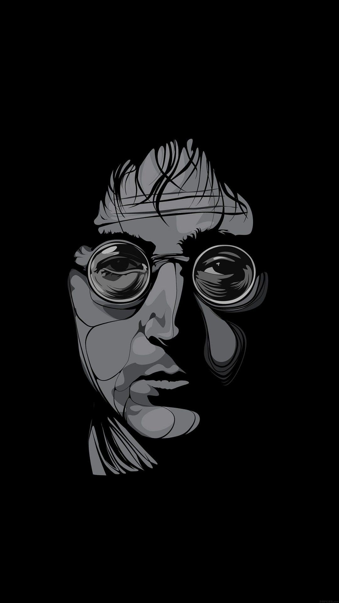 John Lennon Illust Art Music