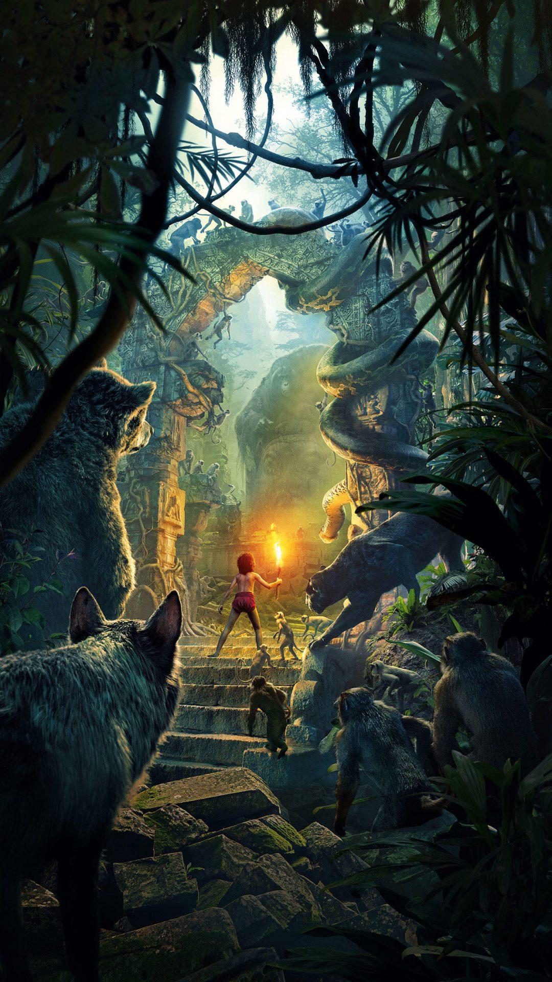 Junglebook Art Film 2016 Poster Nature