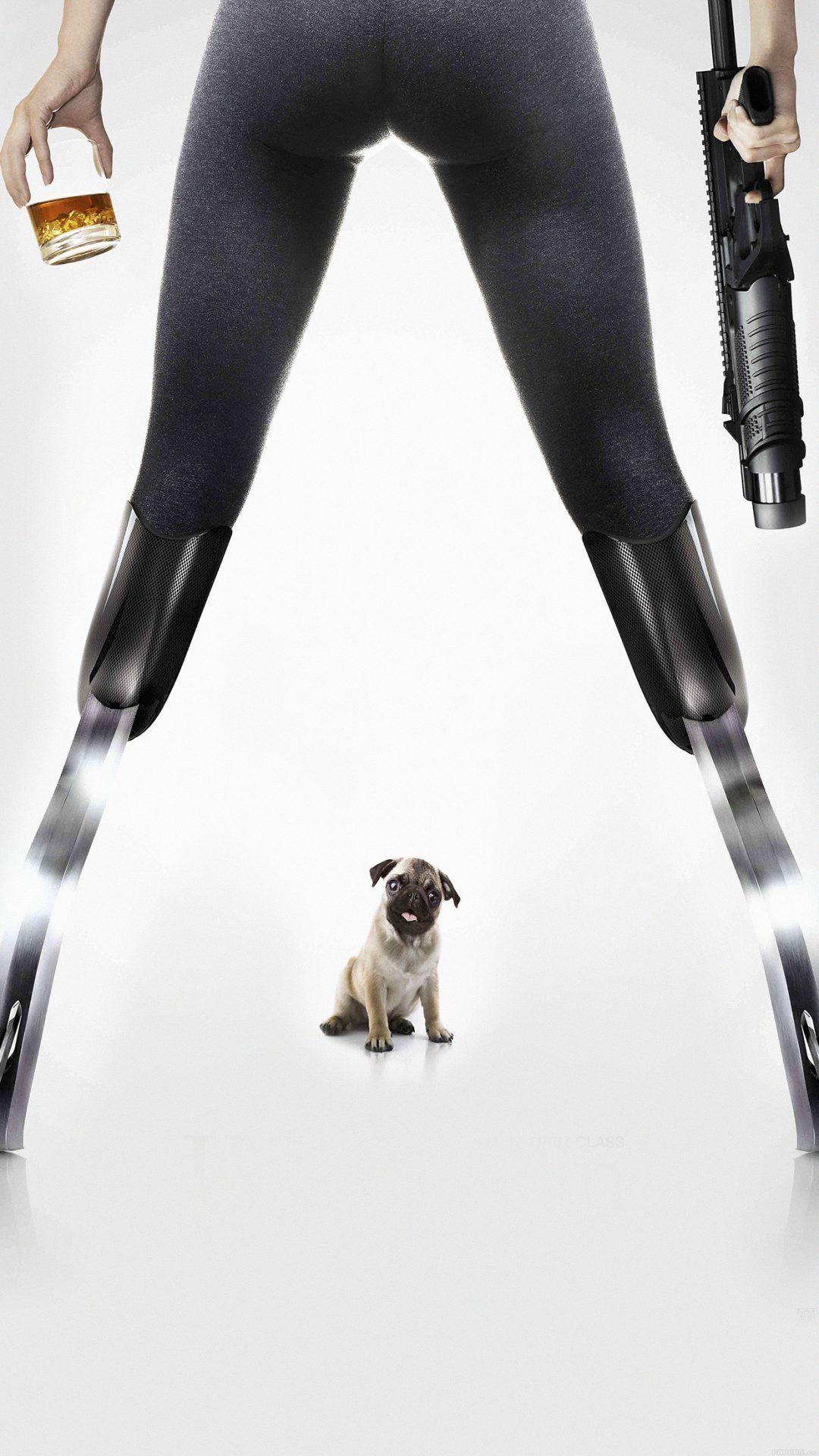 Kingsman Poster Dog Art Film