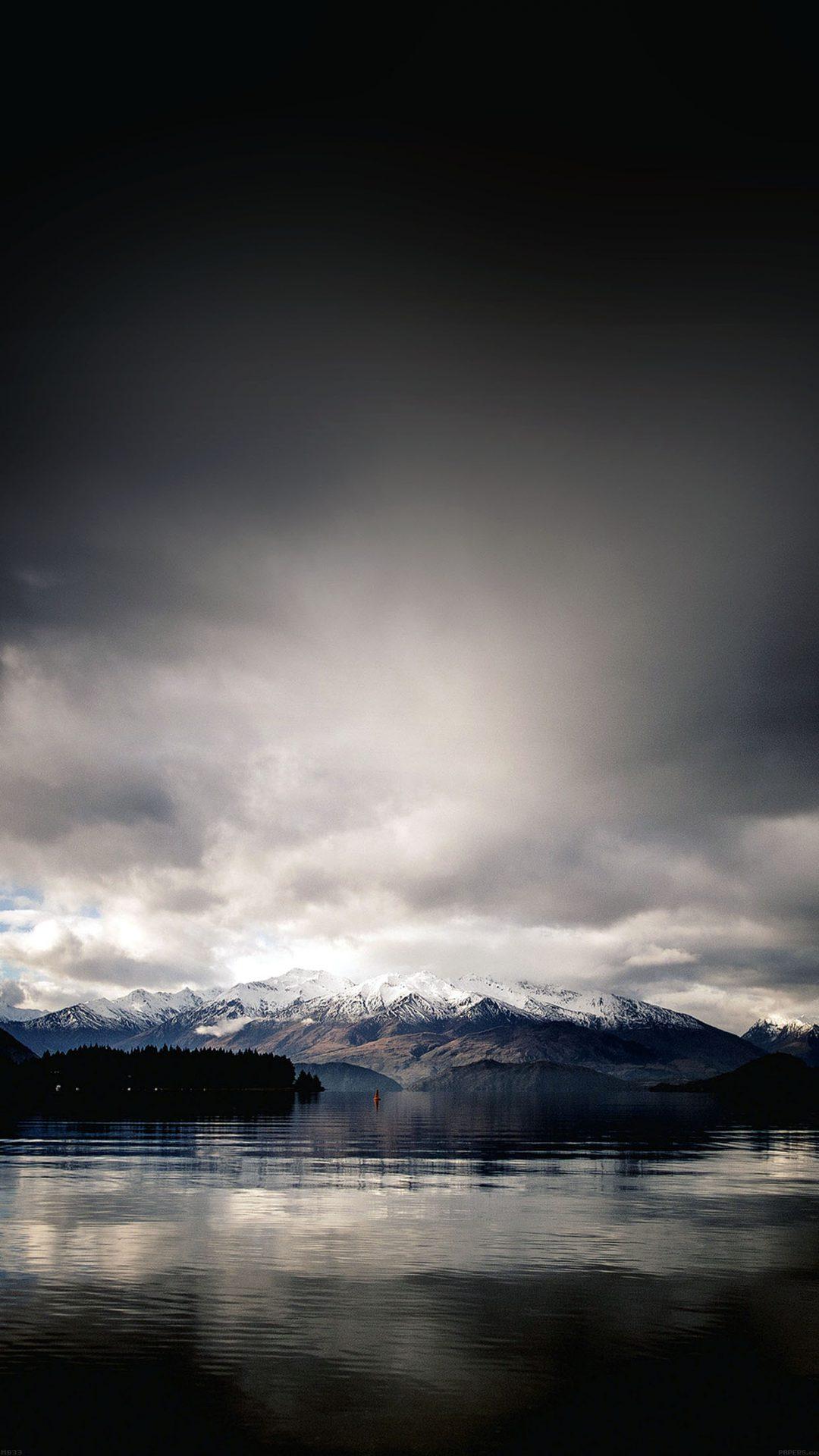 Lake And Mountain And Sky Nature
