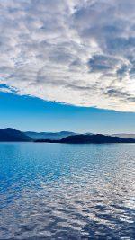 Lake Mountain Summer Nature Blue Healing Cloud