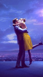 Lalaland Film Movie Purple Blue Poster Illustration Art Jazz