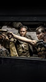 Mad Max Furiosa Film Art Tom Charlize Dark