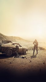 Madmax Dessert Film Art Yellow Furyroad