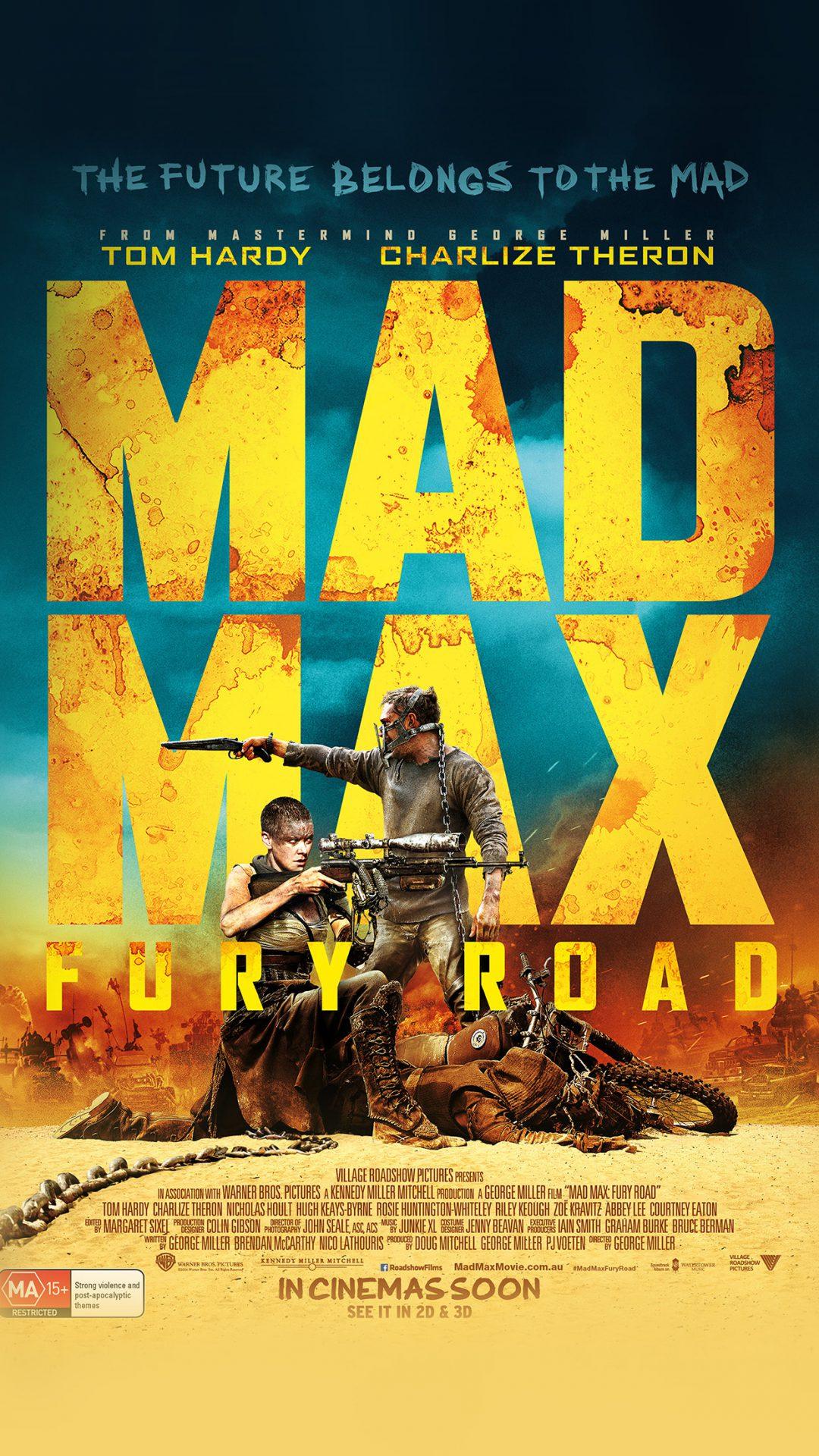 Madmax Furyroad Film Poster Art