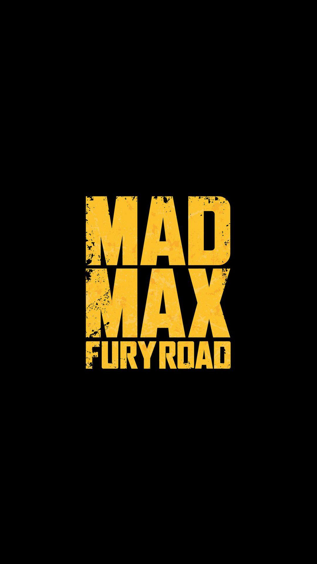 Madmax Furyroad Film Poster Minimal Logo Art Dark