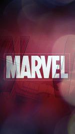 Marvel Logo Film Art Illust Minimal Bokeh
