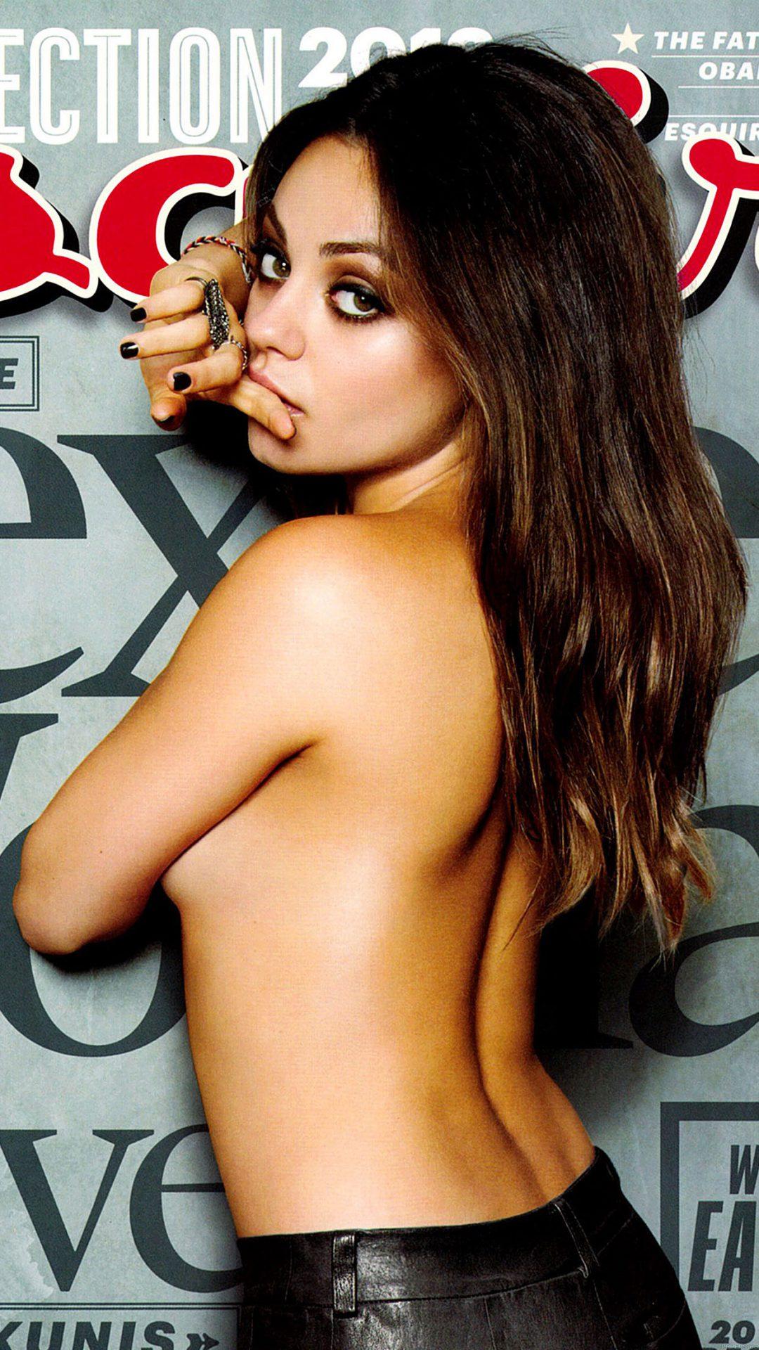 Mila Kunis Esquire Film Girl Face