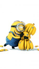 Minions Art Illust Film Cute Banana Yellow
