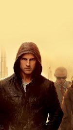 Mission Impossible Tom Cruise Film Art Yellow