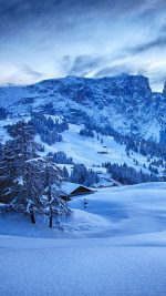 Mountain Blue Snow Winter Nature Ski