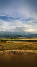 Mountain Field Fall Authum Nature Happy