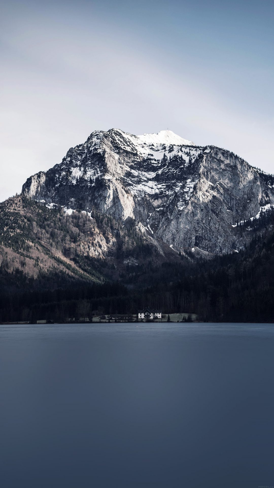 Mountain Lake View Paul E Harrer Nature