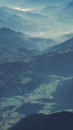 Mountain Nature Blue Green Summer Earth