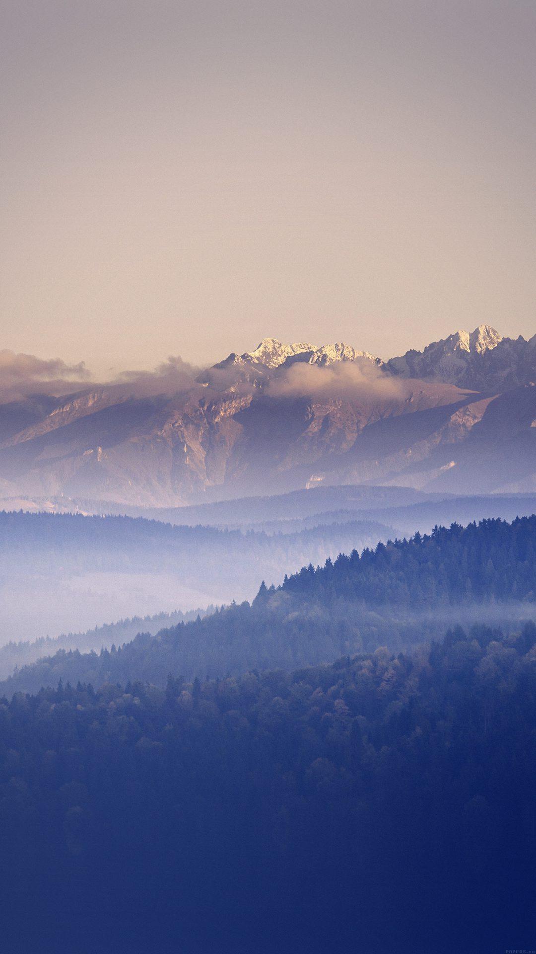 Mountain Peace Blue Sky Nature