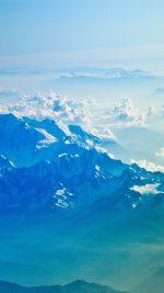 Mountain Snow Winter Blue White Nature Cloud