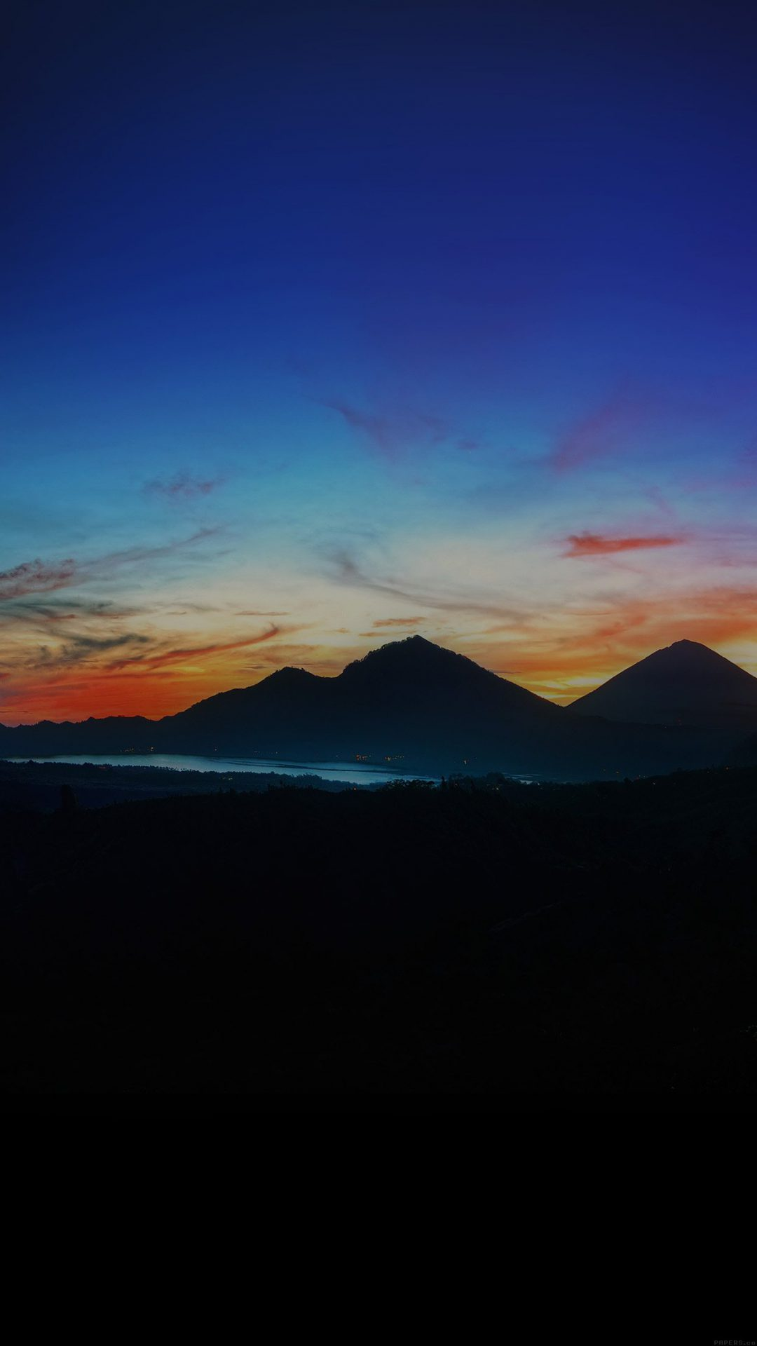 Mountain Sunrise Nature Best Sky Dark