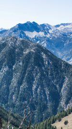 Mountain Winter Snow Wood Nature