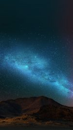 Night Sky Dark Color Star Shining Nature
