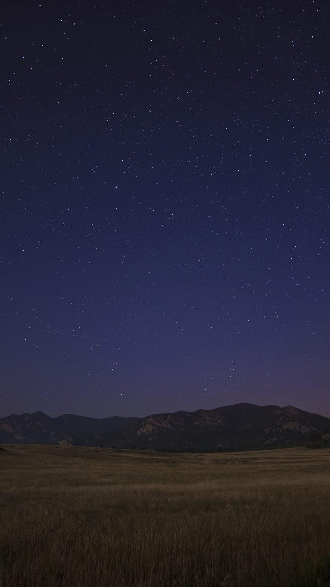 Night Sky Star Shine Nature Fall
