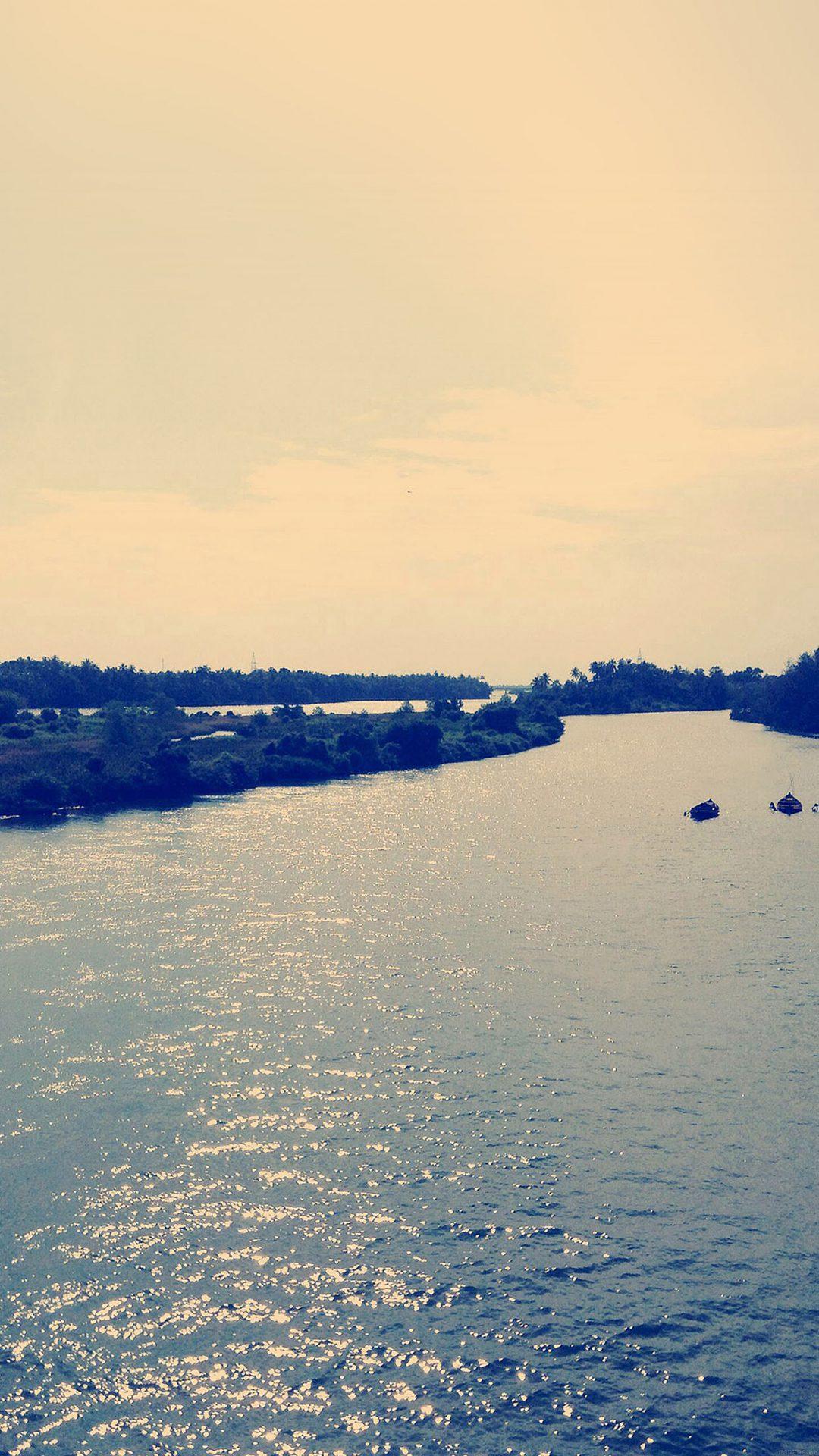 Nostalgia River Sea Nature
