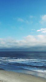 Ocean Blue Sky Cloud Nature