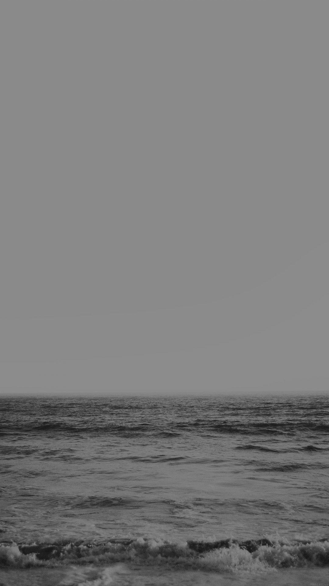 Ocean View Winter White Sea Jay Mantri Nature